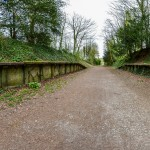 Charlton Marshall Halt Panorama (27 Apr 2013)